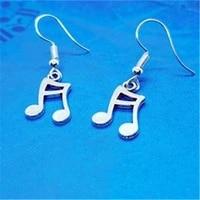 music note earrings music earrings guitarist gift music teacher gifts cute dangle earrings