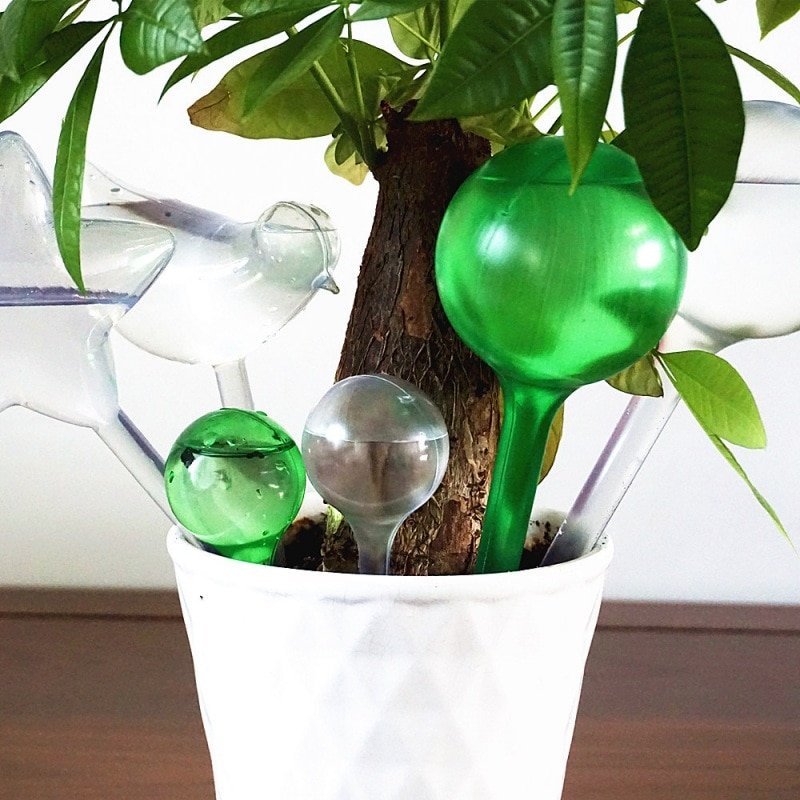 Dispositivo de riego de jardín de planta automática de PVC Mini globos de riego para plantas de flores