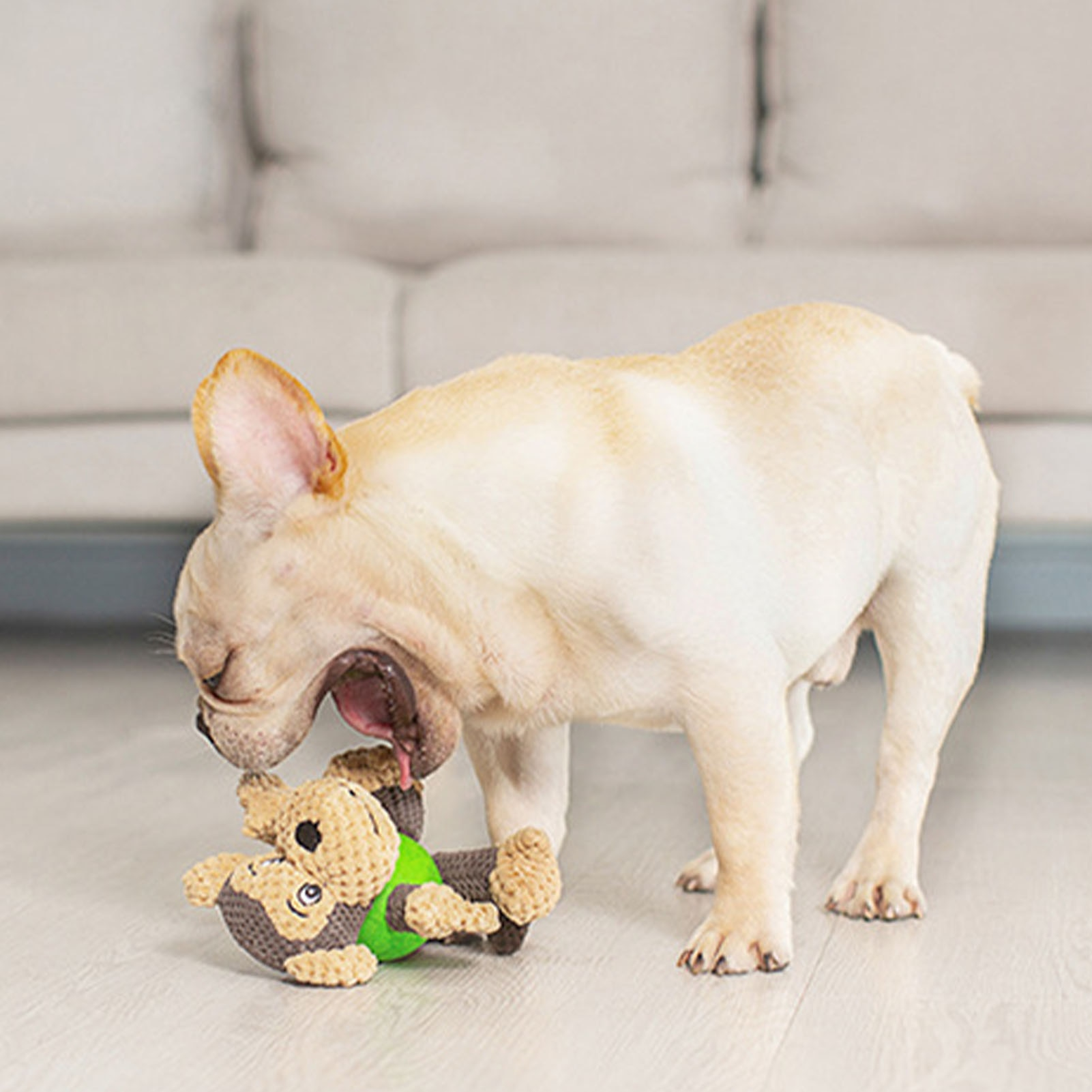 Squeaky Plush Dog Toy Bite Resistant Puppy Molar Toy Stuffed Doll Droshipping  - buy with discount