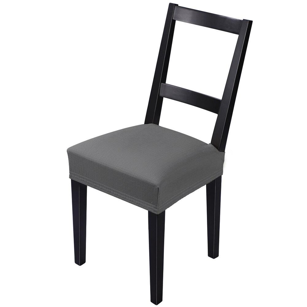 IMIKEYA 4 قطعة تمتد كرسي مقعد يغطي كرسي حامي splacproof للإزالة الطعام كرسي يغطي مع شريط مرن لمعظم تشاي