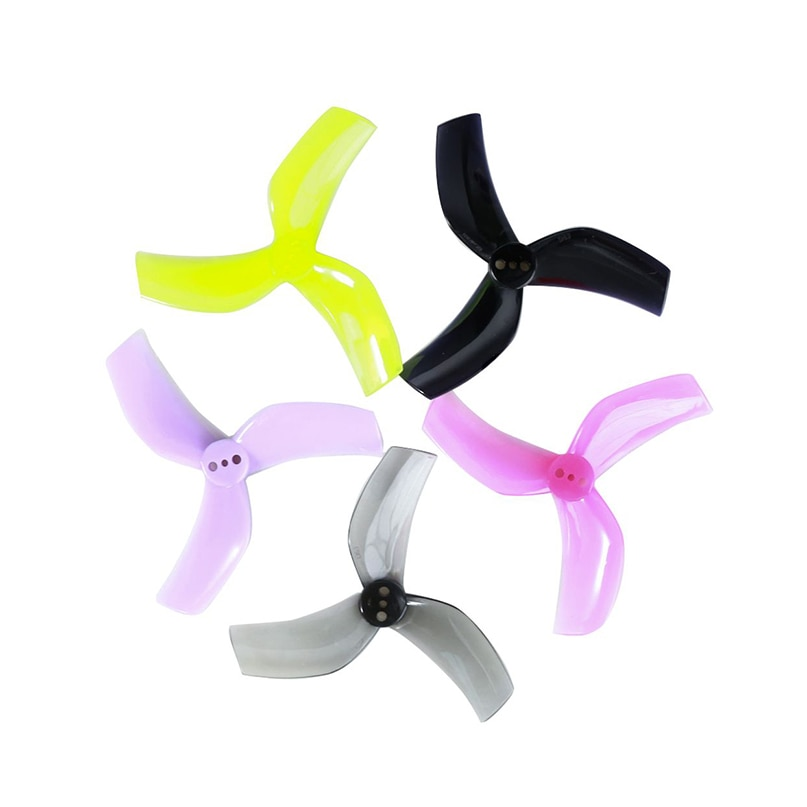 12Pairs Gemfan D63 Ducted Props PC 3-paddle Propeller CW CCW 3 Holes for 1105-1108 Motor Cinewhoop RC FPV Racing Drone