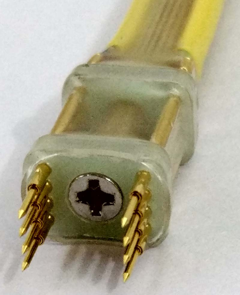 SOP DIP SOIC VSOP SPI FLASH 8P Sonda de 1,27mm de dedal de quemar escribir descargar