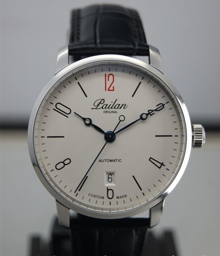 PAILAN Men's Automatic Mechanical Watch Tianjin 2824 Men's Watch ST2130 Movement Sapphire Crystal 5ATM Casual Male Men's Watches