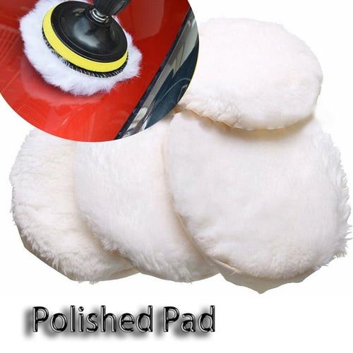 1Pc Polishing Pad For Polisher Machine Waxing Polishing Buffing Car Paint Care Polisher Pads For Car Polisher