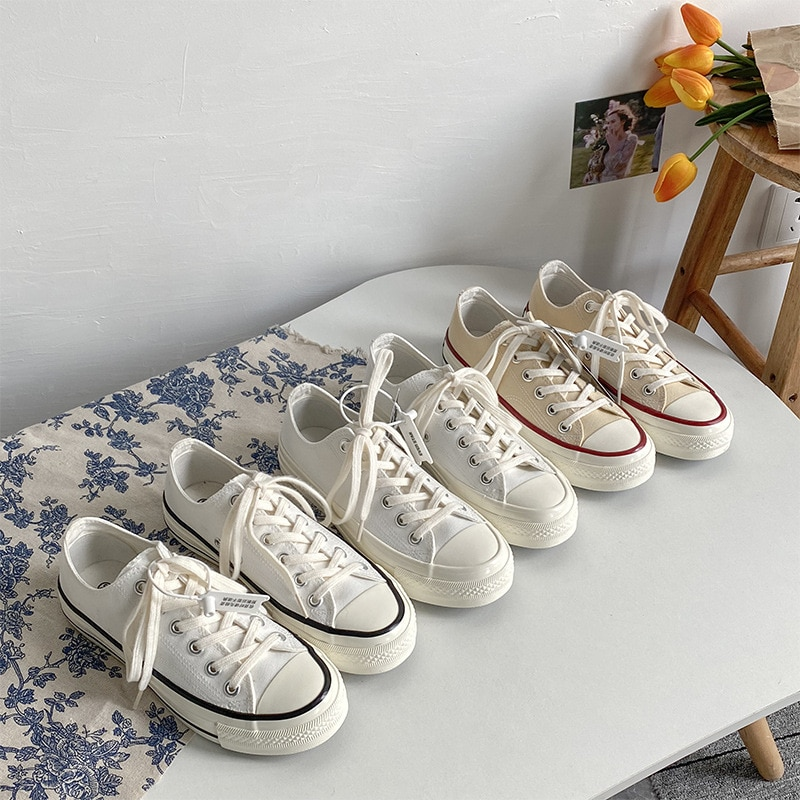 Unisex Lovers Shoes Boys Girls Gumshoes Solid Color Size 35-44 Nice Quality Basic Classic Style Must