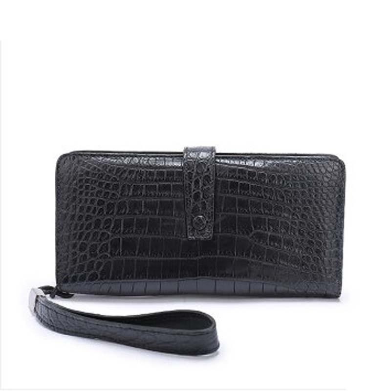 weitasi new crocodile leather men wallet male bag  men clutch bag no stitching leisure fashion bag
