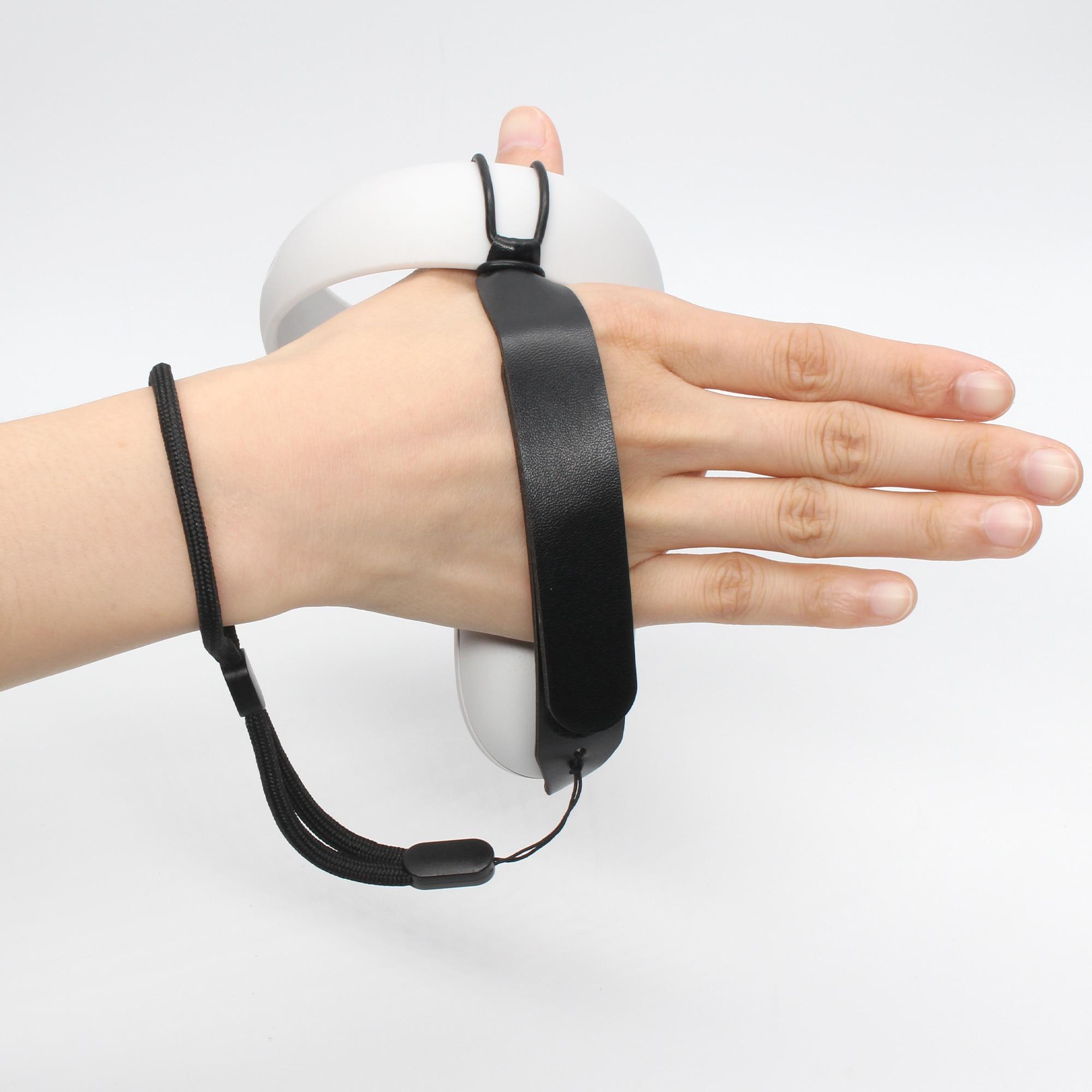 1 paar Knuckle Strap für Oculus Quest 2 VR Touch Controller Grip Einstellbare Knuckle Handgelenk Sling für Oculus Quest 2 zubehör
