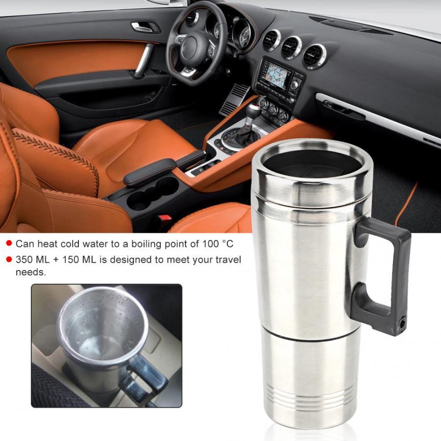 Hervidor de agua del té y café para coche, hervidor de agua...