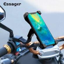 Essager мотоциклетный держатель для телефона для iPhone Huawei мобильный телефон подставка на Руль держатель для телефона