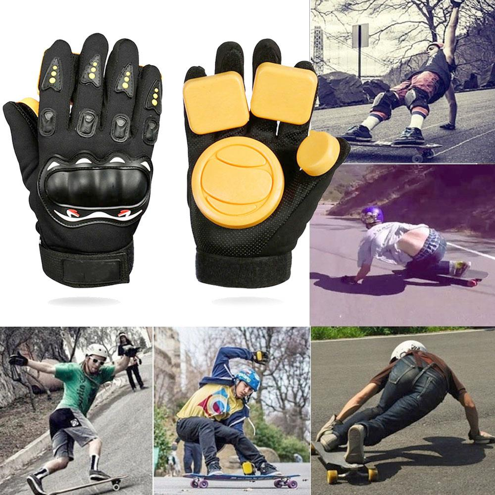 Guantes de espuma Longboard, guantes de freno para monopatín, guantes para monopatín, guantes para monopatín, Protector deportivo