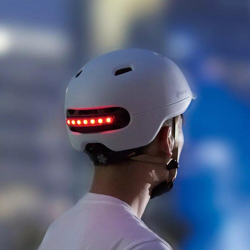 2021 Top Hot Smart4u Bicycle Helmet Electric Bicycle Helmet with Taillight