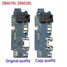 """10 sztuk/partia, oryginalny Port ładowania USB złącze PCB Flex Cable dla ASUS ZenFone Max Pro M1 ZB601KL ZB602KL 5.99"""""""