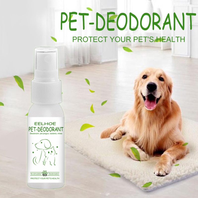 30 мл дезодорант для собак и кошек, спрей для удаления запаха, ароматизатор для хомяков, парфюмерия, товары для домашних животных, защита от п...