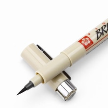 Pinceau Art marqueurs Fineliner stylo brosse Sakura Pigma Micron stylo Neelde doux pinceau dessin stylo 005 01 02 03 04 05 08 1.0 2.0 3.0
