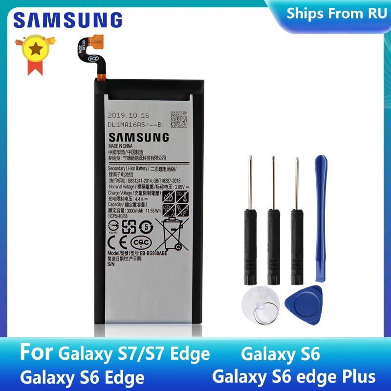 SAMSUNG оригинальный аккумулятор EB-BG930ABE EB-BG930ABA для Samsung GALAXY S7 S7 Edge G9300 G930A F P L V G9308 S6 S6 Edge + S6Edge Plus