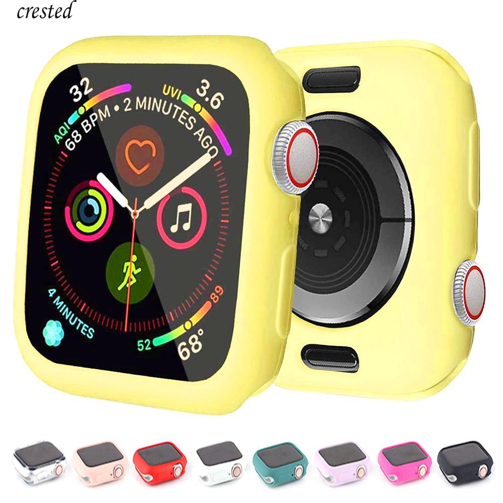 Funda protectora de silicona para Apple Watch, Protector de parachoques para carcasa...