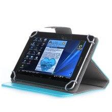 PU deri braketi seti 7 inç evrensel tablet kılıfı beyaz siyah