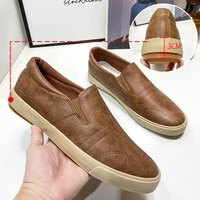 new spring leather mens casual shoes large size 45 men shoes outdoor walking mans footwear comfortable sports shoes men loafer