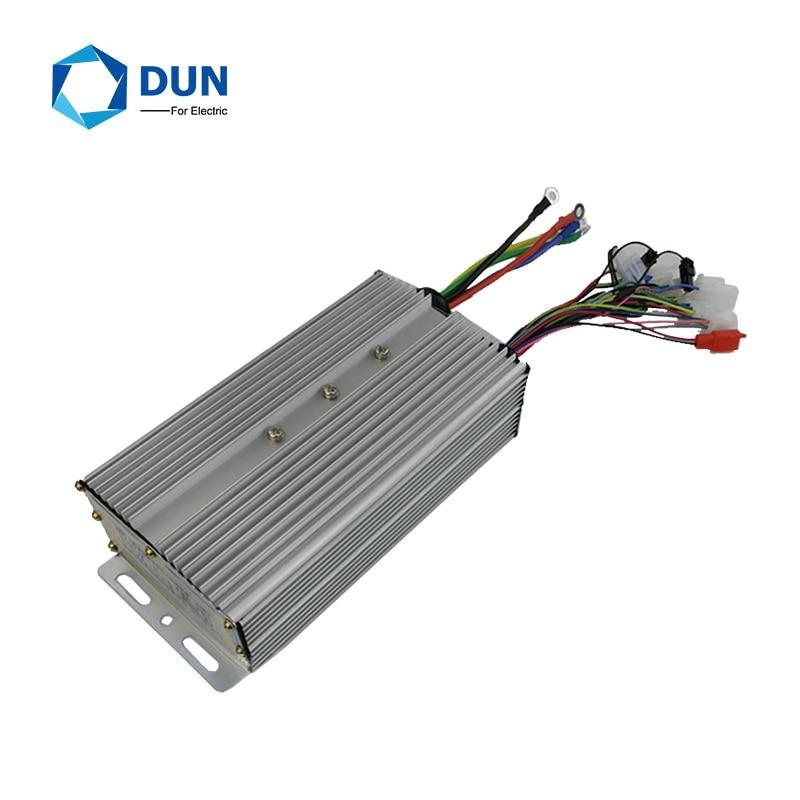 Controlador de onda sinusoidal mosfet 24 60v 55A para motor de triciclo eléctrico de alta rpm