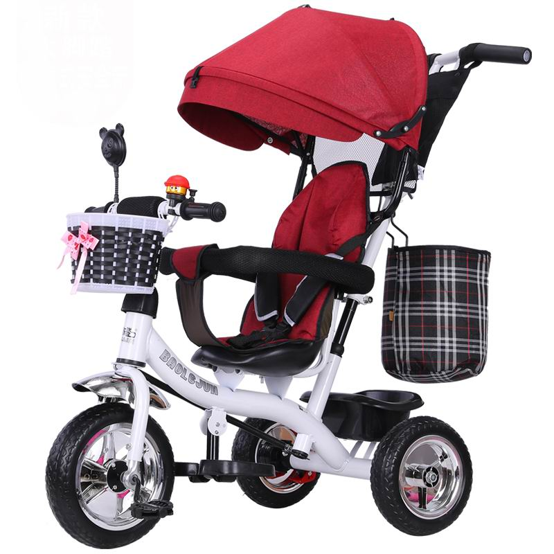Child tricycle baby trolley Special offer good quality baby stroller baby carriage bike bicycle make travelling shiping easy