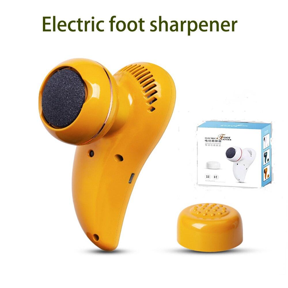 Electric Foot Grinder Sharpener Foot Massager Peel Pedicure Electric Foot Peel Peeling Household Foot Beauty Pedicure Device