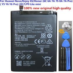 Bateria original hb405979ecw 3020mah para huawei nova/desfrutar 6s/honra (6c 6a 7a 7s 8a 7a pro)/(y5 y6 y6 pro) 2017/p9 lite mini