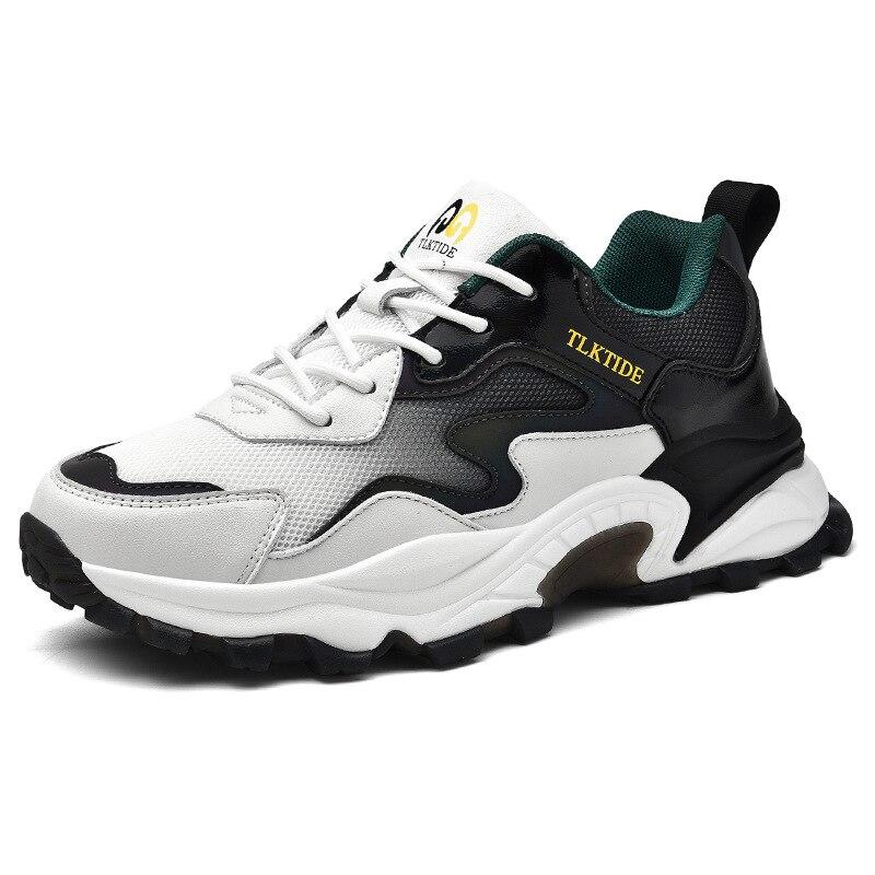 Мужские кроссовки для бега, высококачественные легкие дышащие спортивные кроссовки для бега, черные повседневные осенние мужские кроссовк...