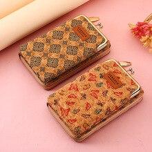 Carrken New Fashion Mini Shoulder Bags For Women Chain Long Flower Wallets And Purse Zipper Card Hol