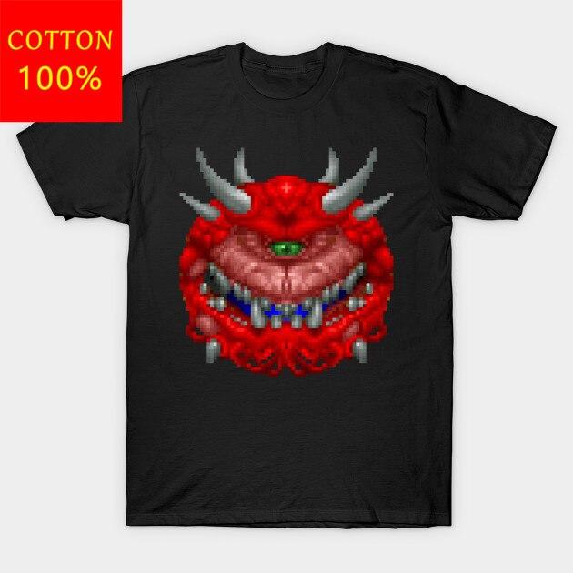 Camiseta para hombre Cacodemon Doom By alisontx1, camiseta para mujer