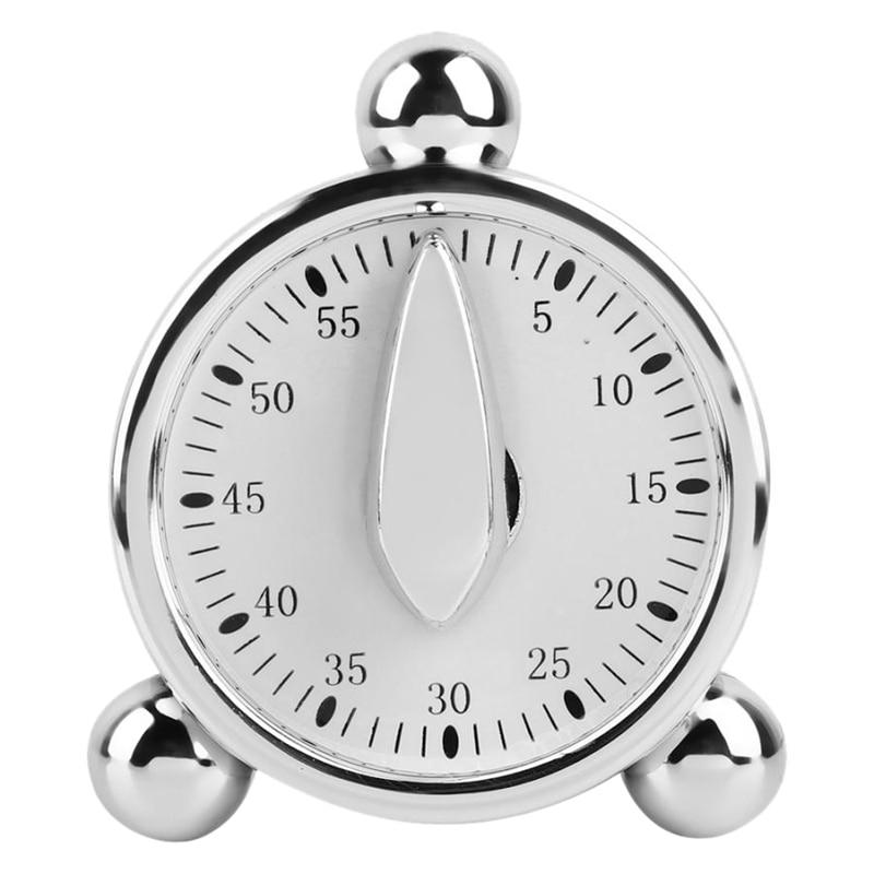 60 minutos cocina temporizador mecánico cocina recordatorios reloj de alarma para oficina de cocina temporizador de cuenta atrás.