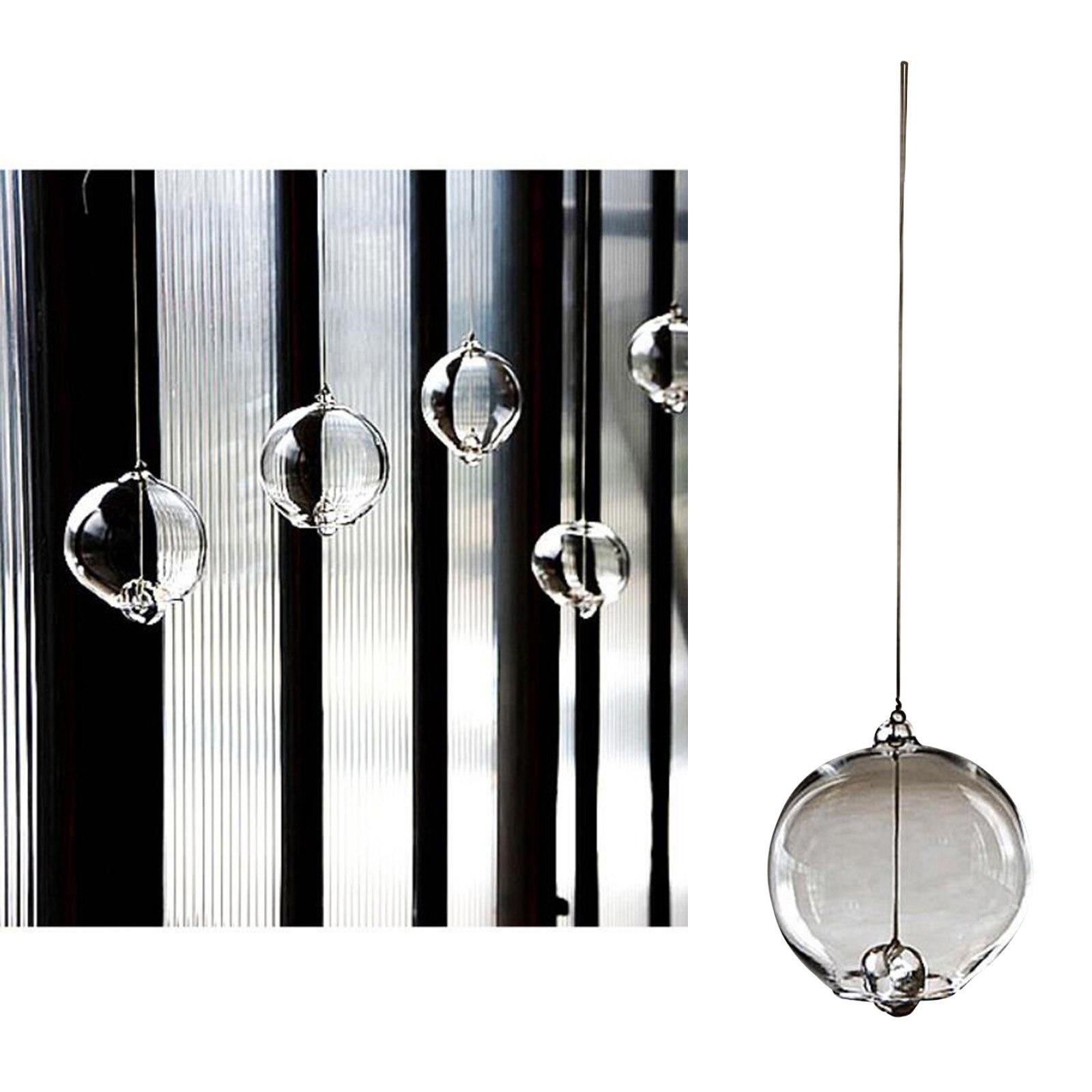 Japanischen Traditionellen Kulturellen Glas Wind Glockenspiel Ornament Einfache Design (Klar)