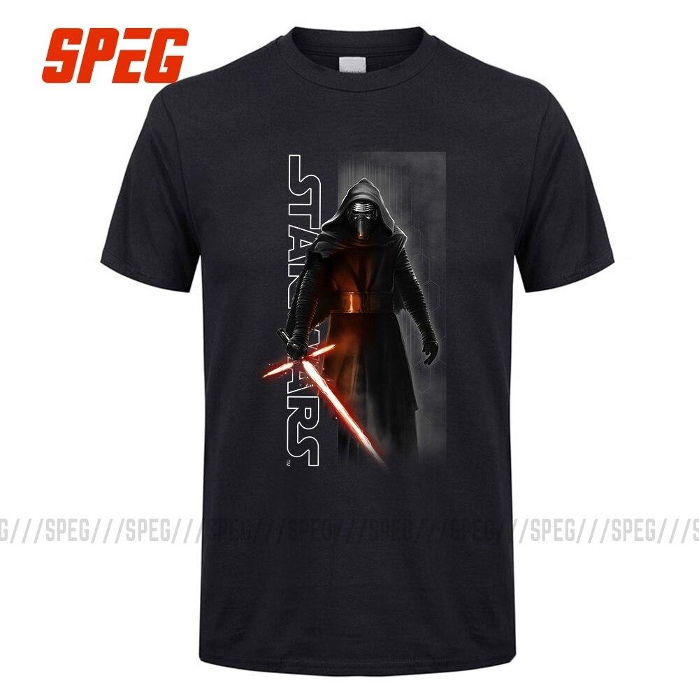 SPEG Star Wars Episode VII 7 T-shirt Men The Force Awakens Kylo Ren Shadows T Shirt Women Cotton Summer Tee Shirt Plus Size
