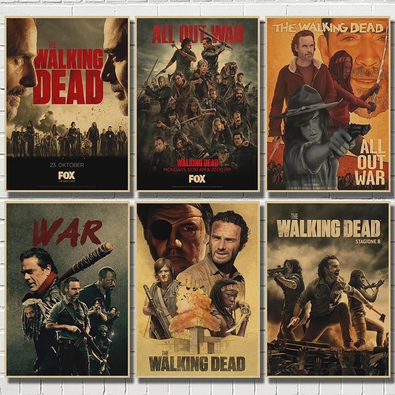 the-walking-dead-hot-season-8-serie-tv-poste-bar-cafe-soggiorno-sala-da-pranzo-dipinti-decorativi-murali-decorazioni-per-la-casa