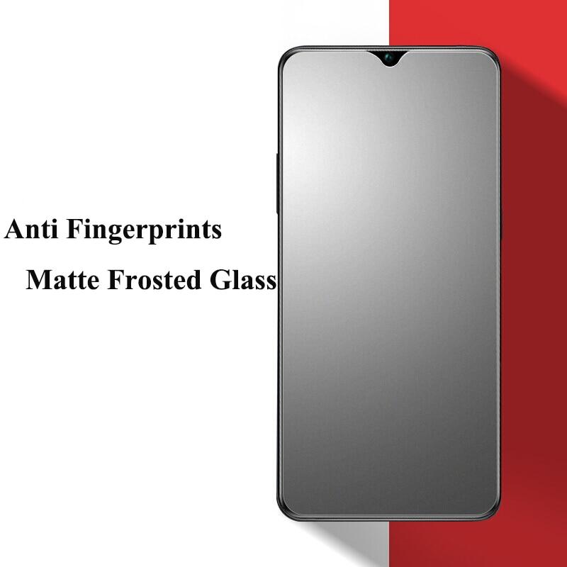 For VIVO V21 V21E Matte Frosted Tempered Glass Screen Protector For VIVO V21E V21 Full Cover Anti Fingerprints Protective Glass