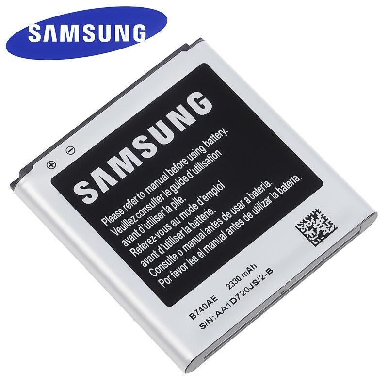 B740AC B740AE 2330mAh Original Samsung batería para Samsung Galaxy S4 Zoom C101 C105 C105K C105A C101L C101S reemplazo de la batería
