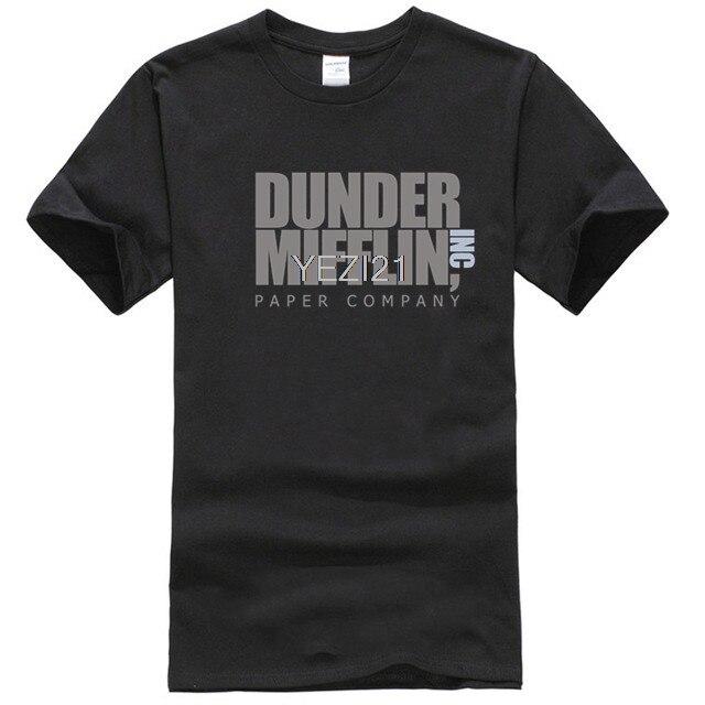 Camiseta de empresa de papel Dunder Mifflin