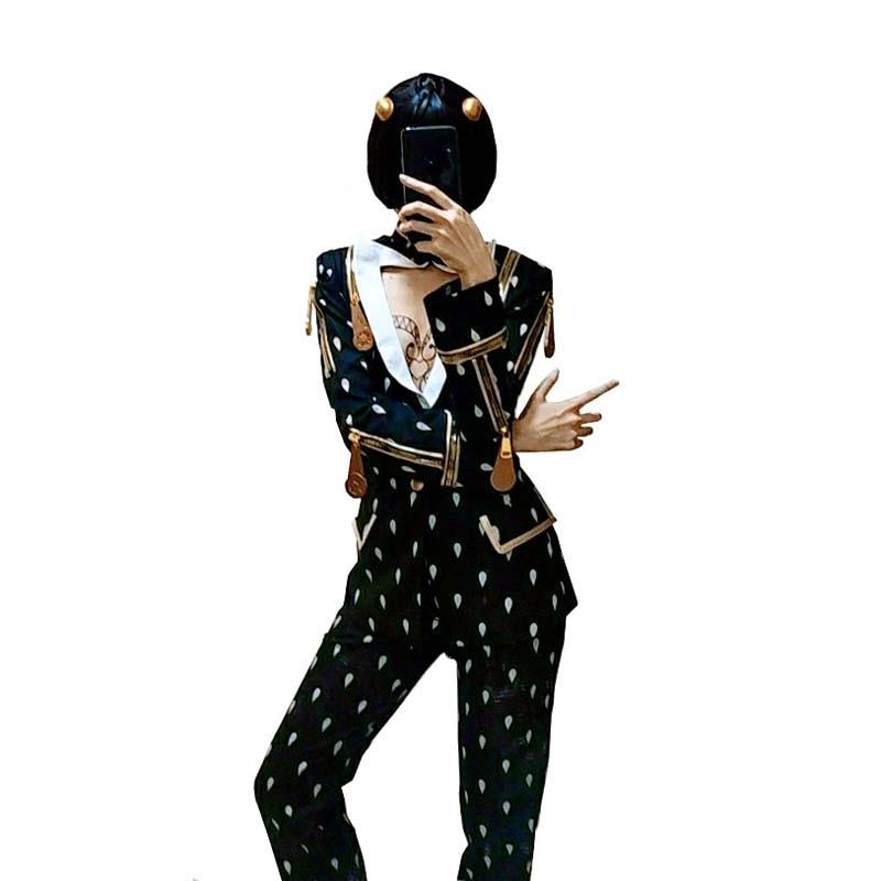 JoJo's Bizarre Adventure Bruno Bucciarati Cosplay Costume full set top+pants