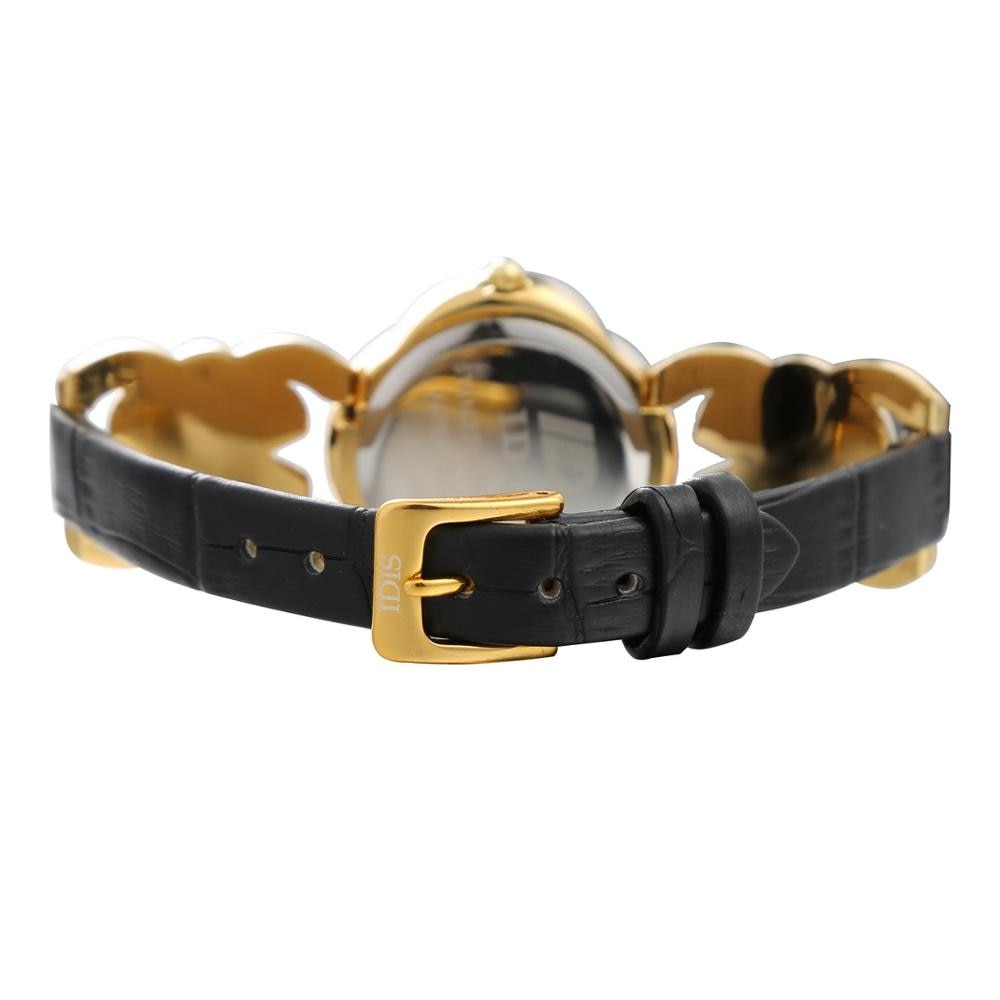 logo Idis leather watch fashion designer Wristwatches Ladies student women Special case watch Diamond case enlarge