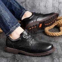 Zapatos negros hechos a mano para hombre, zapatos casuales de cuero genuino para exteriores, zapatos planos de moda para hombre, mocasines, zapatos para caminar, talla grande 47