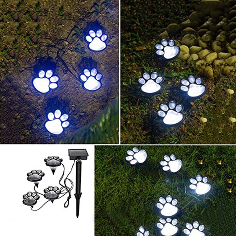 lampada de chao de gato com led a energia solar decoracao de paisagem area