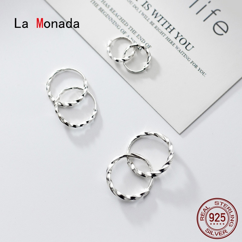 Серьги-кольца-la-monada-женские-серебро-925-пробы
