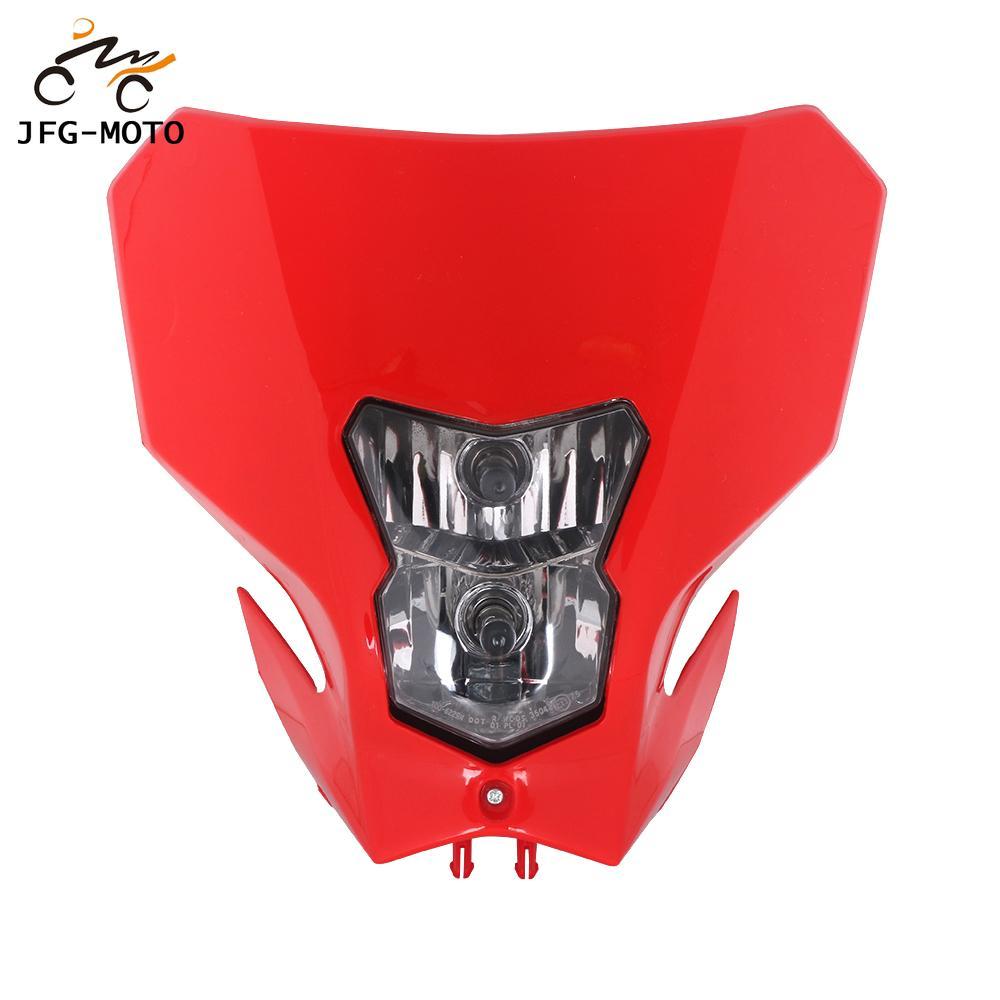 Motocicleta faro de la linterna para cabeza para HONDA CRF450L CRF450XR CRF450 L XR 2019-2020 Enduro de Motocross de la bici de la suciedad