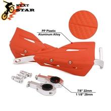 Motocross 28mm 22mm guidon Protection Handguard guidon main protecteurs pour HONDA KTM SUZUKI YAMAHA EXC CRF YZ moto