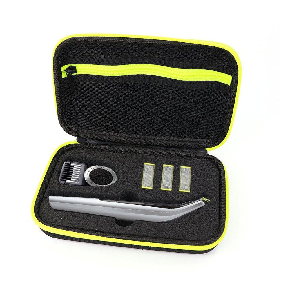 Funda de transporte para Philips OneBlade Pro Afeitadora eléctrica QP6520 QP6510, funda rígida de almacenamiento bolsa de transporte