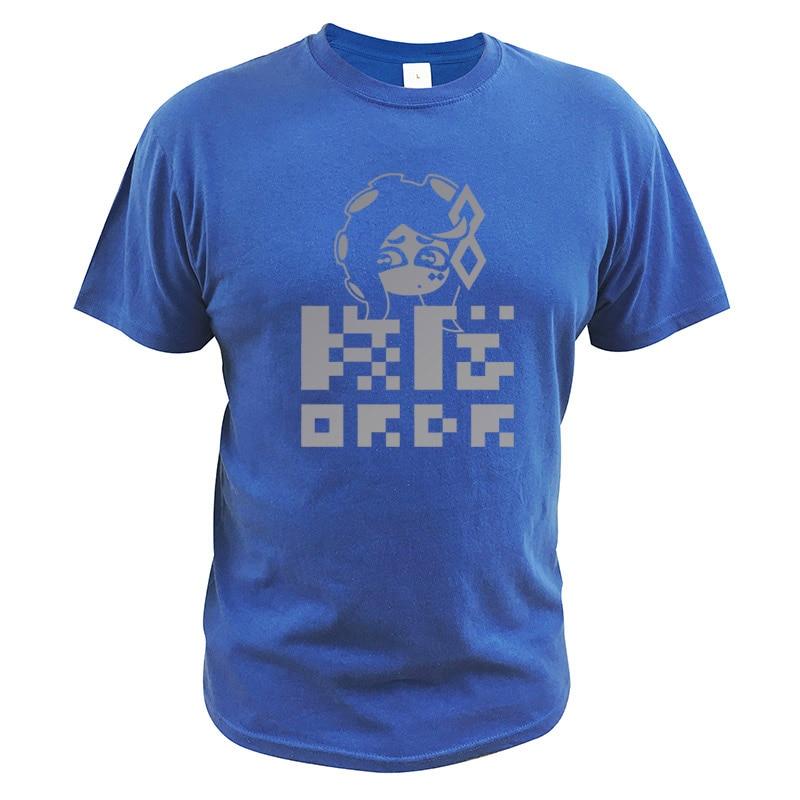 Final Fest equipo orden camiseta Splatoon 2 tamaño asiático puro 100% algodón cómodo Camisetas de manga corta Splatfest camiseta