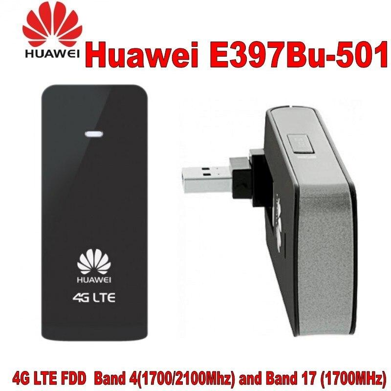 100% Huawei Original de módem 4G LTE FDD band 17 (menor B 700Mhz) banda 4(1700/2100MHz)3G UMTS 850/1900/2100MHz móvil que