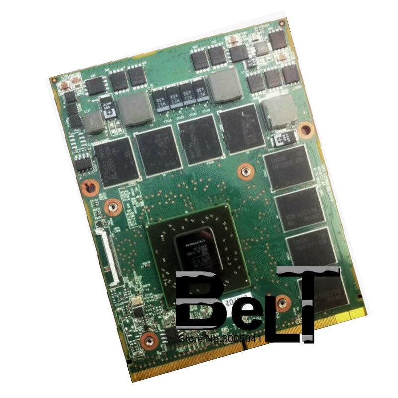 HD5870 HD 5870 м 1 ГБ DDR5 216-0769008 VGA карты для Clevo W860CU W880CU W870CU GX60 X7200 D900F W870L P150SM