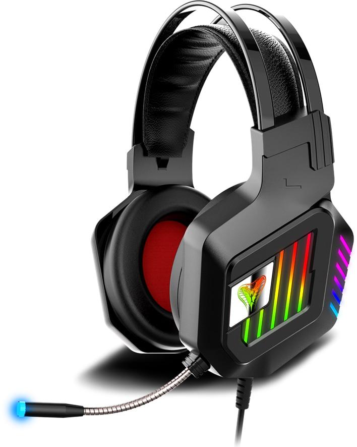 Auriculares RGB para juegos para PC Gamer PS4 XBOX ONE Professional Led Light Gaming auriculares estéreo de graves ajustables con cable