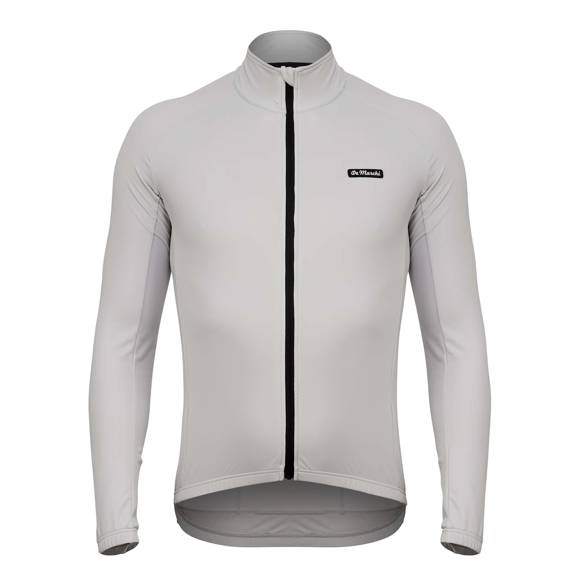 De marchi ciclismo jersey de invierno de manga larga de lana chaqueta...