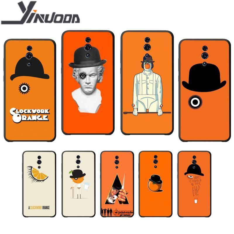 Yinuoda-funda de teléfono negro para OPPO A5 A9 2020 A7X reno 2...